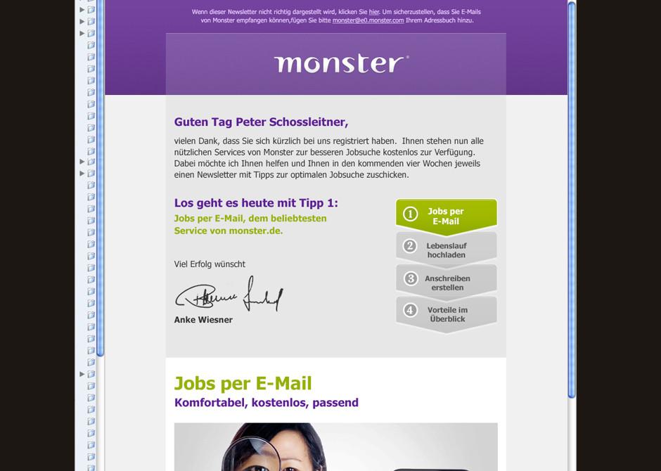 Fantastisch Monster Jobs Hochladen Lebenslauf Galerie ...